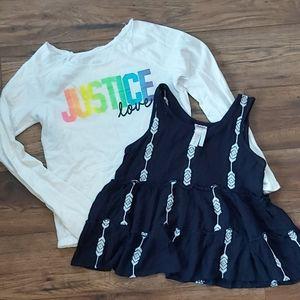 Justice Top Bundle Size 12